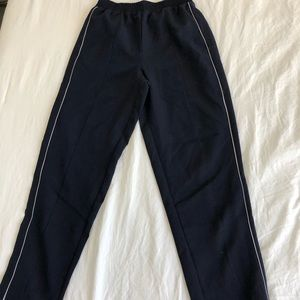 Women's Cropped Pinstripe Pants